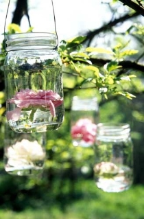 diy wedding mason jars