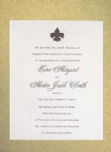 diy wedding invitations - formal invitations