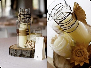 ideas for cheap wedding centerpieces