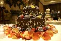 unusual wedding cakes - chocolate