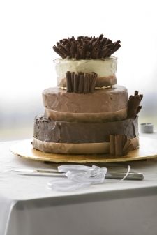 unusual wedding cakes - chocolate decadence