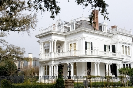 wedding reception places - historic home