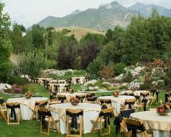 wedding reception places - park