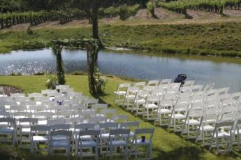 wedding reception places - vineyard