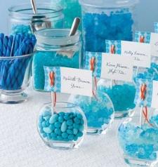 candy buffet blue