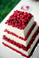 Simple but Stunning with Rasberries