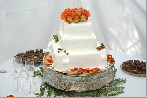 Cheap Wedding Cake Pictures