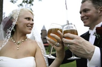 wedding reception places - brewery